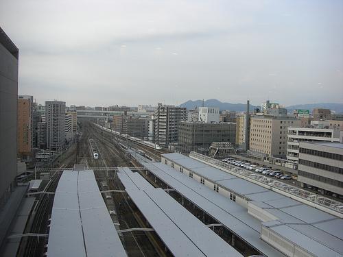 博多阪急より1