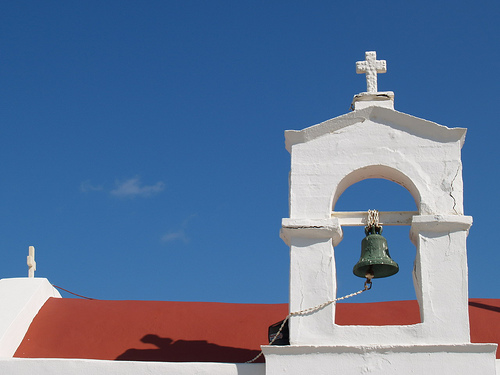 Small church near malia port