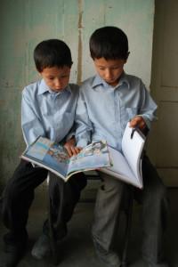 Kids Studying